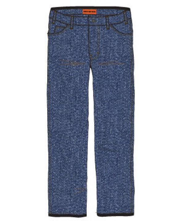 Dickies men's jean 5 pkt/paint/utility DP810SNB - Stonewashed Indigo Blue