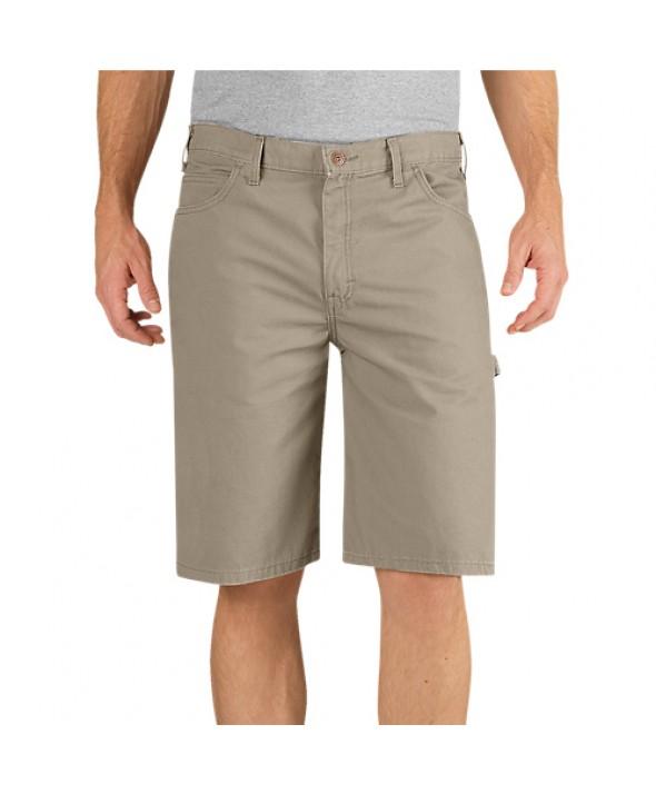 Dickies men's shorts DX250RDS - Rinsed Desert Sand