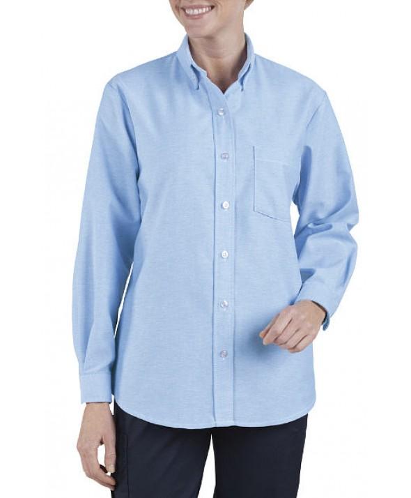 Dickies industrial women's shirts FL254LB - Light Blue