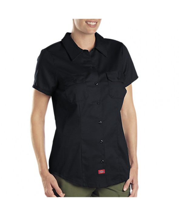 Dickies women's shirts FS574BK - Black