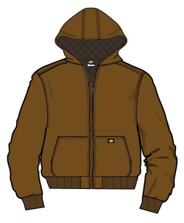 Dickies boy's jackets KJ2101BD - Brown Duck