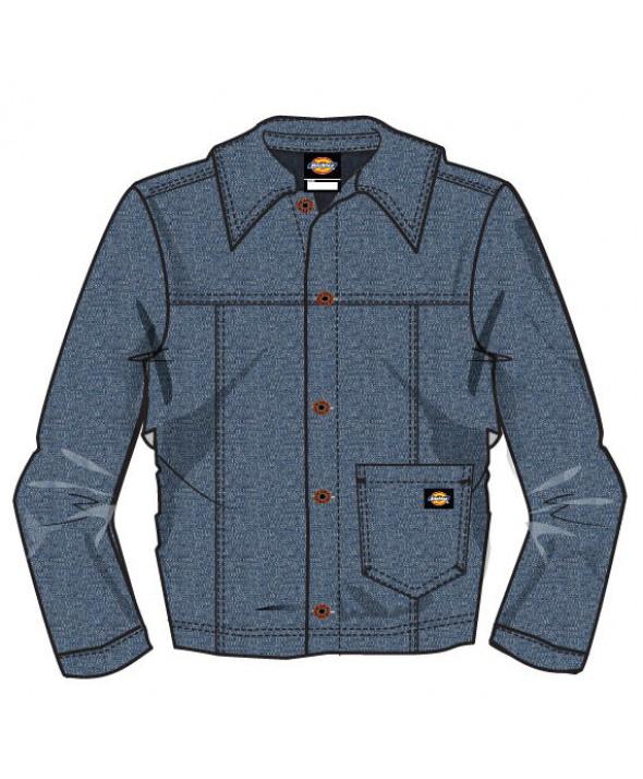 Dickies boy's jackets KJ2904VI - Vintage Indigo