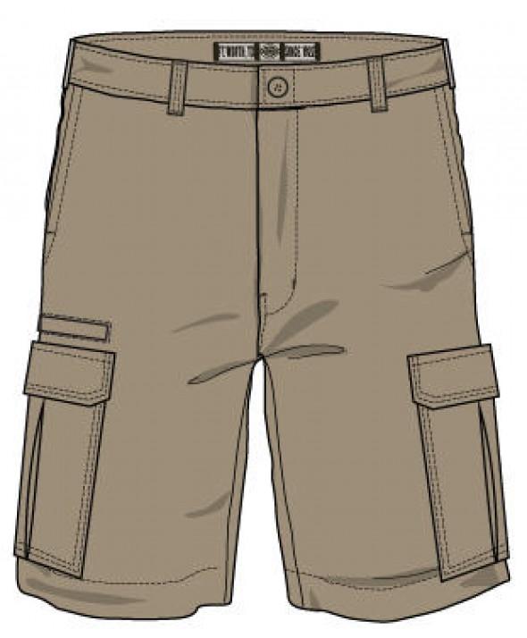 Dickies boy's shorts KR414RDS - Rinsed Desert Sand