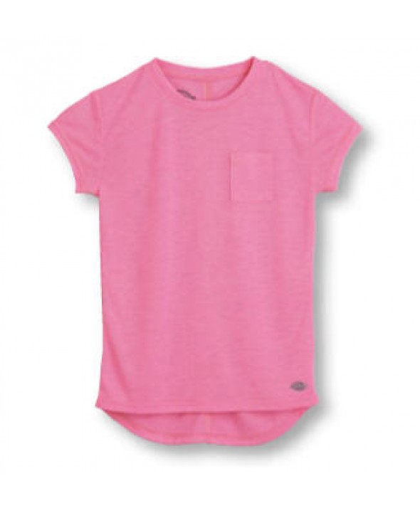 Dickies girl's shirts KS501NK - Neon Pink
