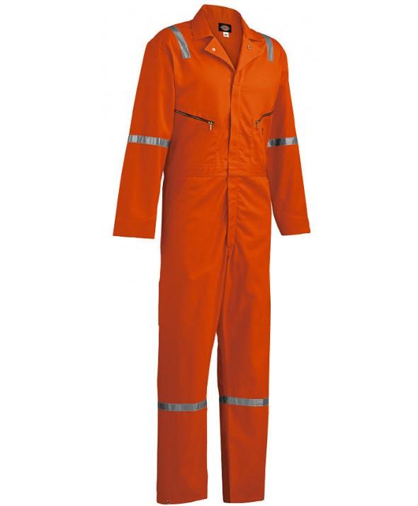 Dickies men's coveralls VV487OR - Orange