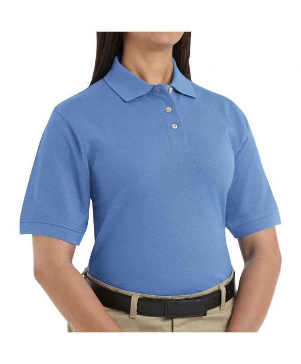 Red Kap 5702BB Womens Basic Pique Polo - Blueberry