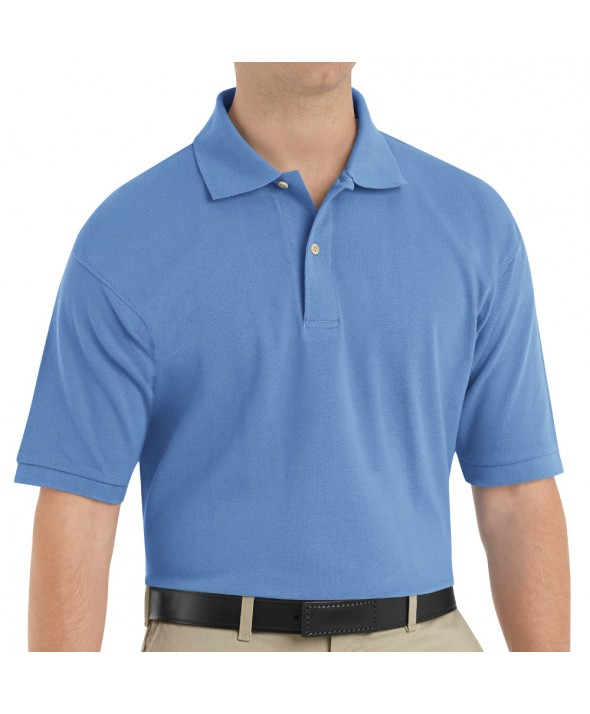Red Kap 7701BB Mens Basic Pique Polo - Blueberry
