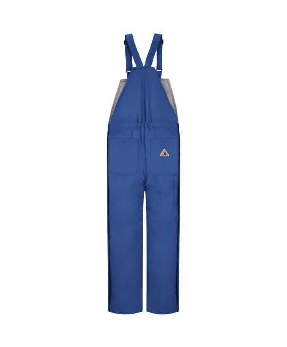 Bulwark BLC8RB Deluxe Insulated Bib Overall EXCEL FR ComforTouch - Royal Blue