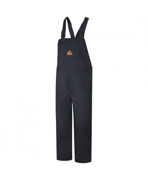 Bulwark BLF8NV Duck Unlined Bib Overall EXCEL FR ComforTouch - Navy Duck
