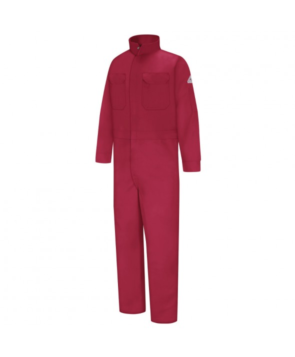 Bulwark CEB2RD Premium Coverall EXCEL FR - Red