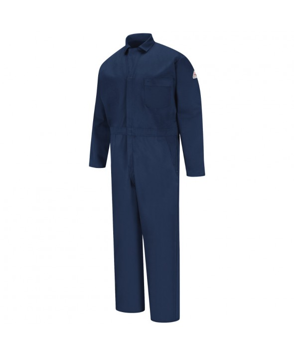 Bulwark CEH2NV Classic Industrial Coverall EXCEL FR - Navy