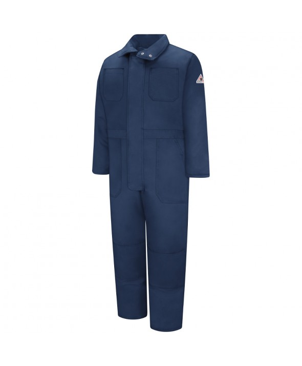 Bulwark CLC8NV Premium Insulated Coverall EXCEL FR ComforTouch - Navy