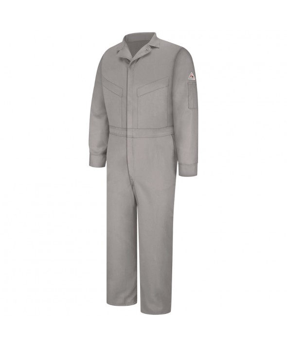 Bulwark CLD4GY Deluxe Coverall EXCEL FR ComforTouch 6 OZ - Grey