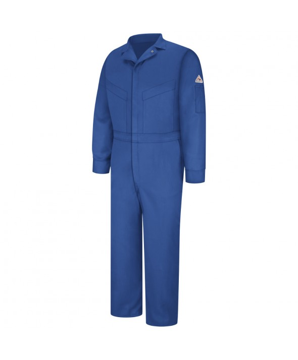 Bulwark CLD4RB Deluxe Coverall EXCEL FR ComforTouch 6 OZ - Royal Blue