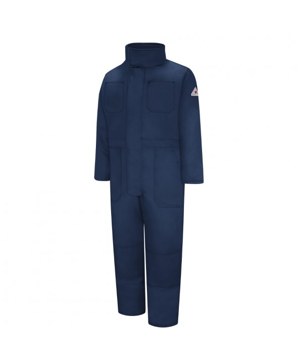Bulwark CNN2NV Premium Insulated Coverall Nomex IIIA - Navy