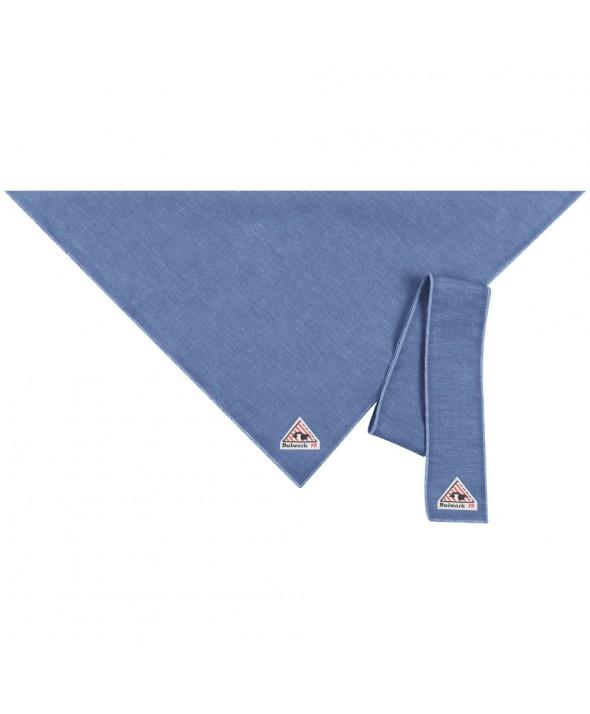 Bulwark HLB6LD Bandana Head Tie EXCEL FR ComforTouch - Light Denim