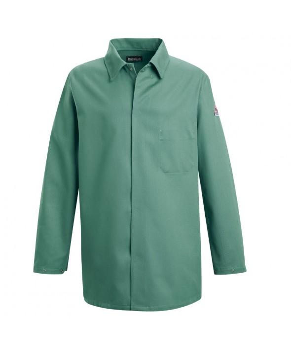 Bulwark KEW2VG Work Coat EXCEL FR 9 oz - Visual Green