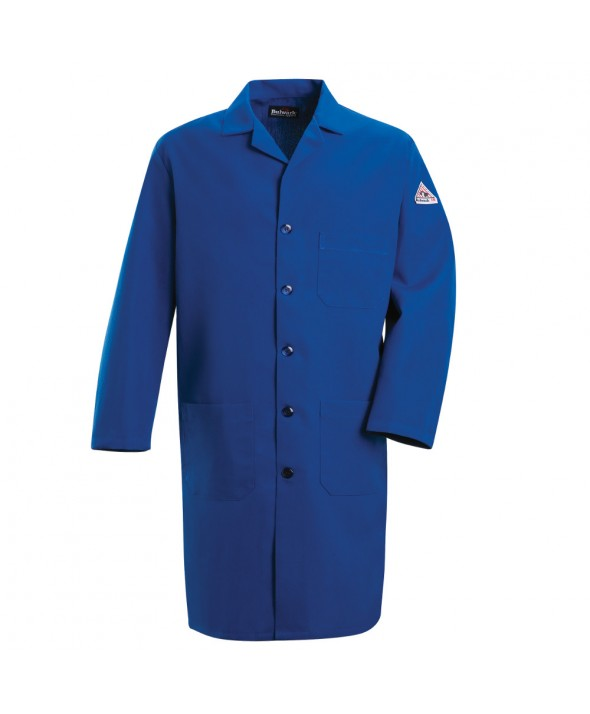 Bulwark KNL2RB Lab Coat Nomex IIIA 6 oz - Royal Blue