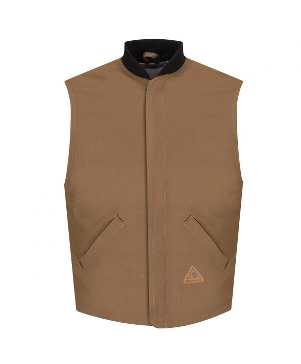 Bulwark LLS2BD Brown Duck Vest Jacket Liner EXCEL FR ComforTouch - Brown Duck