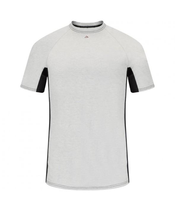 Bulwark MPU4GY Short Sleeve FR TwoTone Base Layer EXCEL FR - Grey