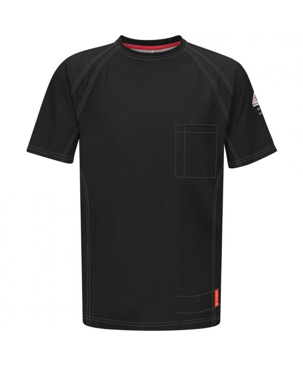 Bulwark QT30BK IQ Short Sleeve Tee - Black