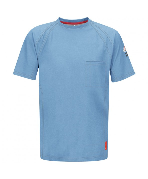 Bulwark QT30BL IQ Short Sleeve Tee - Blue