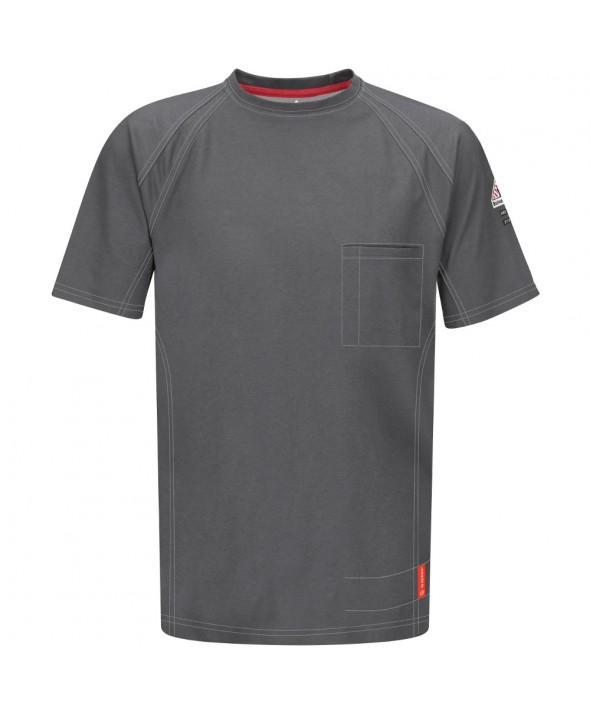 Bulwark QT30CH IQ Short Sleeve Tee - Charcoal