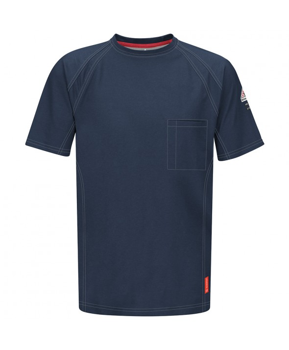 Bulwark QT30DB IQ Short Sleeve Tee - Dark Blue