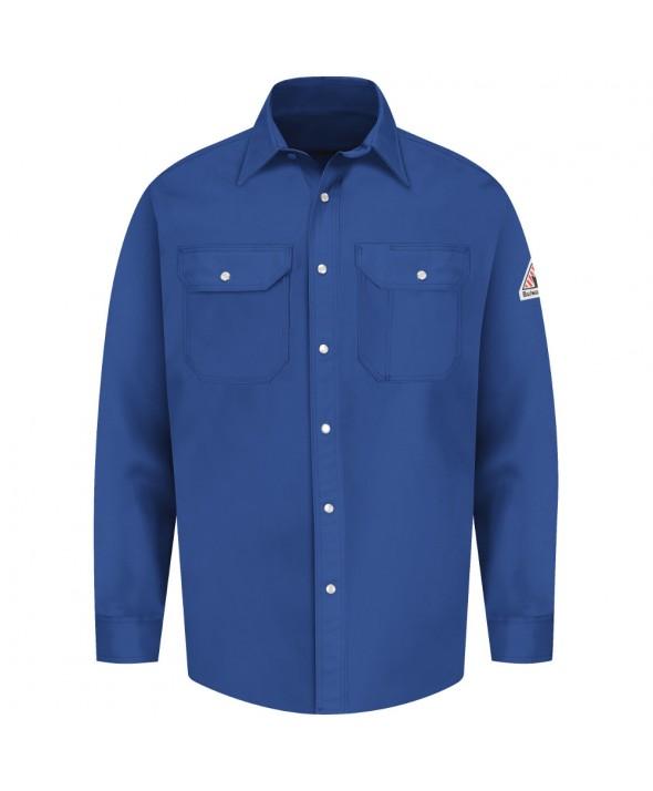 Bulwark SES2RB SnapFront Uniform Shirt EXCEL FR 7 oz - Royal Blue