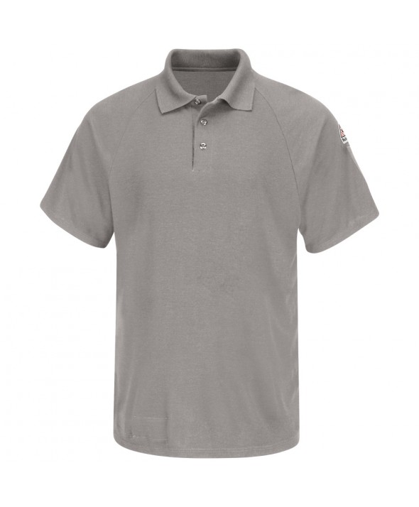 Bulwark SMP8GY Classic Short Sleeve Polo CoolTouch2 - Grey