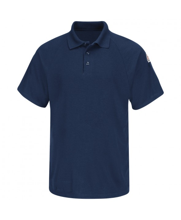 Bulwark SMP8NV Classic Short Sleeve Polo CoolTouch2 - Navy