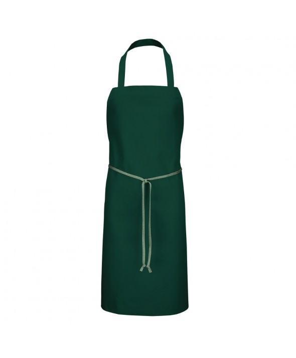 Chef Designs 1430HG Standard Bib Apron - Hunter Green