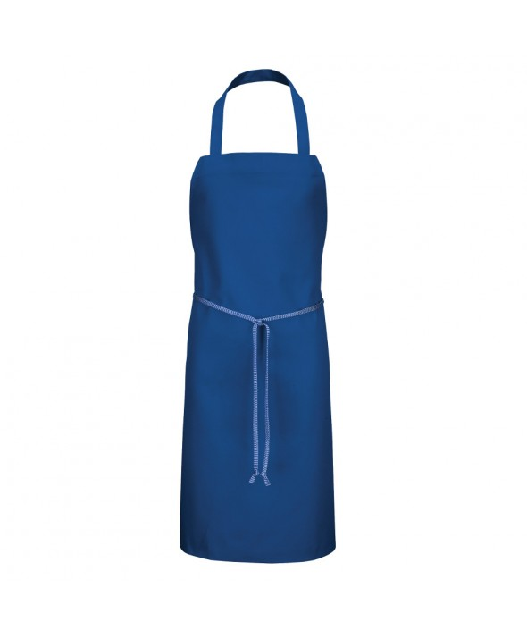 Chef Designs 1430RB Standard Bib Apron - Royal Blue