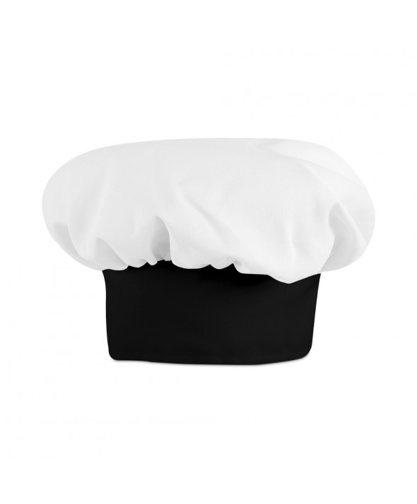 Chef Designs HP60BB Chef Hat - White w/ Black Band