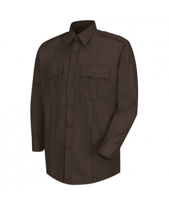 Horace Small HS1120 Deputy Deluxe Long Sleeve Shirt - Brown