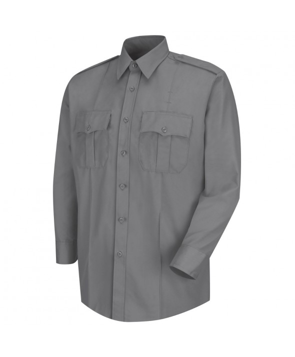 Horace Small HS1122 Deputy Deluxe Long Sleeve Shirt - Grey