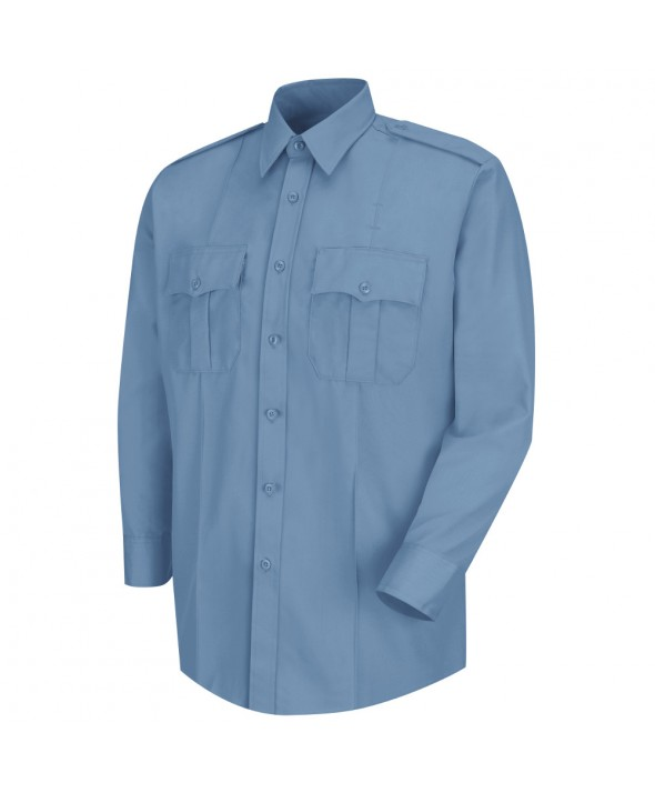 Horace Small HS1123 Deputy Deluxe Long Sleeve Shirt - Light Blue