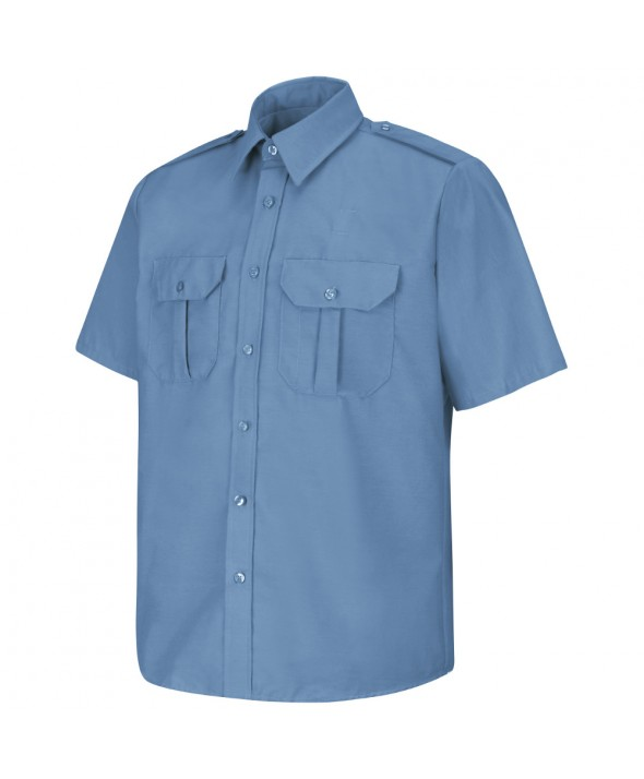 Horace Small SP66MB Sentinel Basic Security Short Sleeve Shirt - Medium Blue