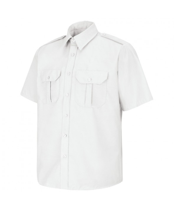 Horace Small SP66WH Sentinel Basic Security Short Sleeve Shirt - White
