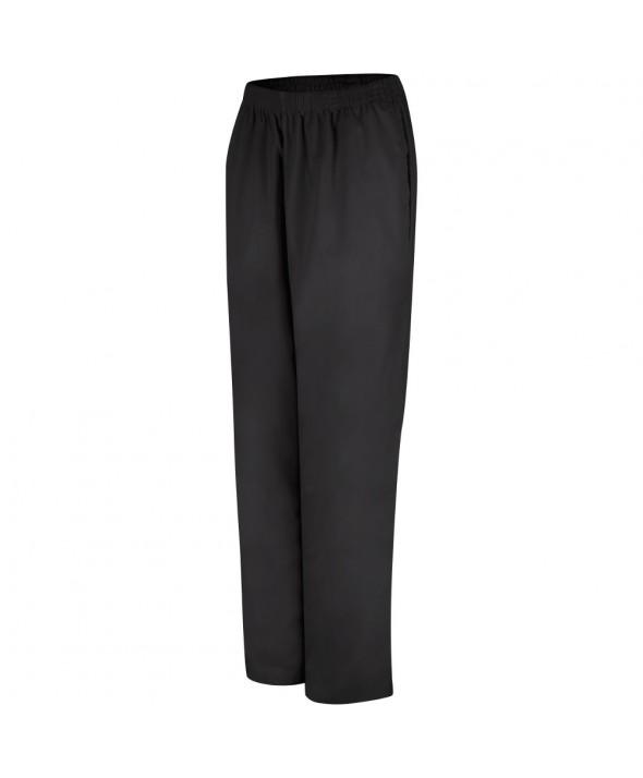 Red Kap 2P11BK Womens Easy Wear Poplin Slacks - Black