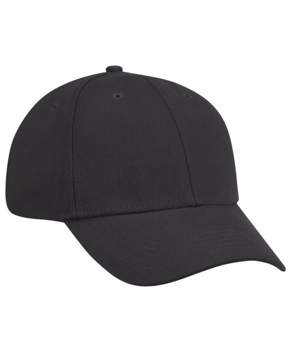 Red Kap HB20BK Cotton Ball Cap - Black