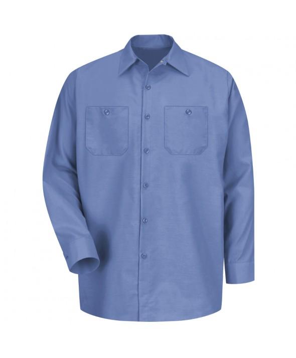 Red Kap SP14MB Mens Industrial Work Shirt - Petrol Blue