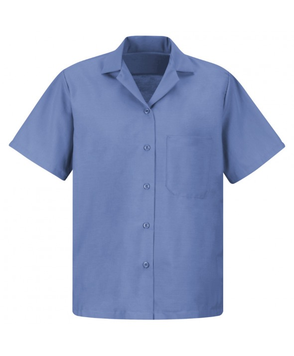 Red Kap SP65MB Womens Uniform Blouse - Petrol Blue