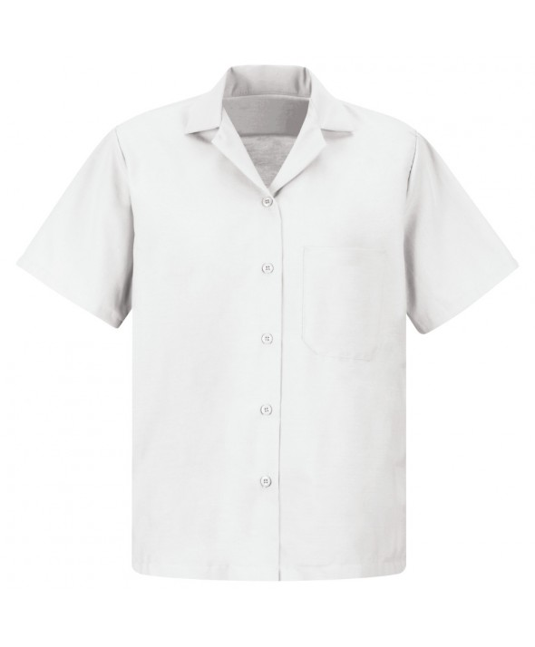 Red Kap SP65WH Womens Uniform Blouse - White