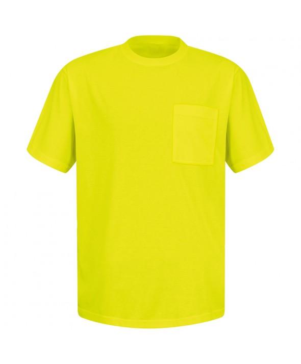 Red Kap SY06YE Enhanced Visibility TShirt - Yellow / Green