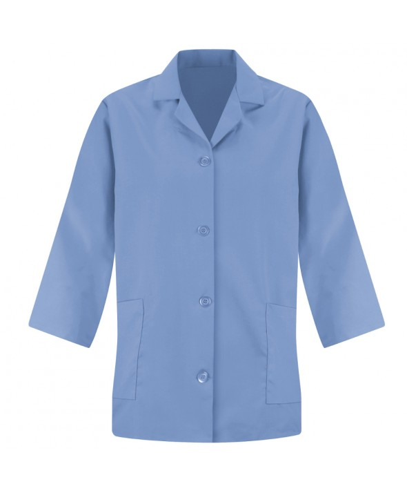 Red Kap TP31LB Womens Smock Sleeve - Light Blue