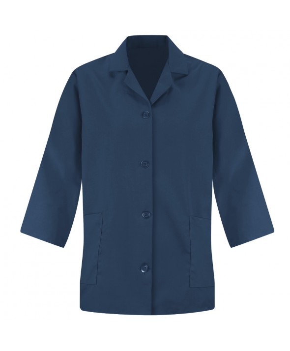 Red Kap TP31NV Womens Smock Sleeve - Navy