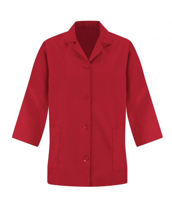 Red Kap TP31RD Womens Smock Sleeve - Red