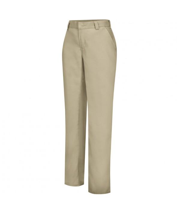 Wrangler Workwear WP71KH Womens Plain Front Work Pant - Khaki