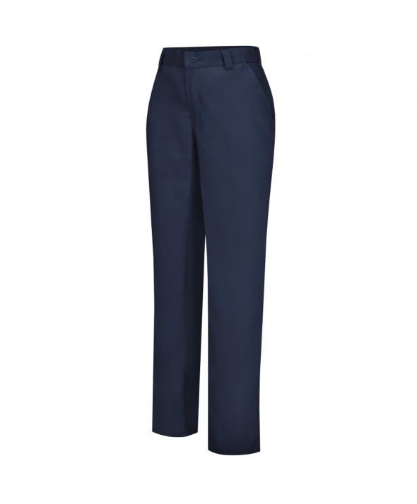 Wrangler Workwear WP71NV Womens Plain Front Work Pant - Navy